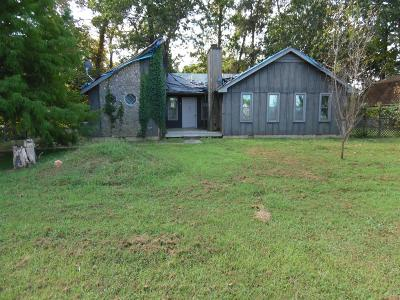 Clarksville Single Family Home For Sale: 1276 Gip Manning Rd