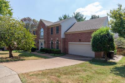 Franklin Single Family Home For Sale: 507 Prince Of Wales Ct