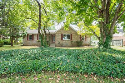 Murfreesboro Single Family Home For Sale: 2225 High Meadow Dr