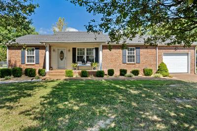 Greenbrier Single Family Home For Sale: 1010 Sunday Silence Dr
