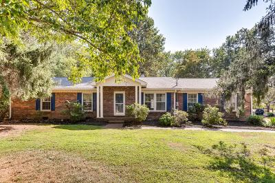 Old Hickory Single Family Home For Sale: 237 Brookside Dr
