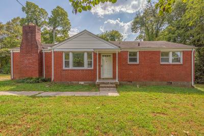 Nashville Single Family Home For Sale: 604 Bel Air Dr