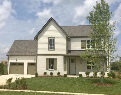 College Grove Single Family Home For Sale: 7201 Ludlow Dr. (Lot 101)