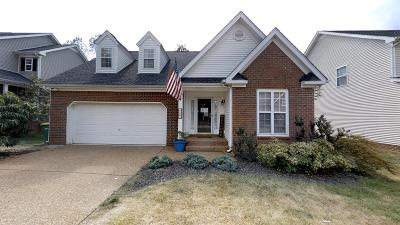 Thompson's Station, Thompsons Station Single Family Home For Sale: 1209 Annapolis Cir