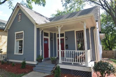 Nashville  Single Family Home For Sale: 1608 Russell St