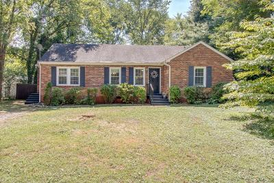 Nashville  Single Family Home For Sale: 968 Draughon Ave
