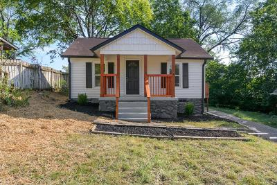 Nashville  Single Family Home For Sale: 930 West Ave