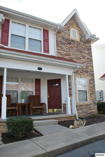 Sevierville TN Condo/Townhouse Sold: $126,500