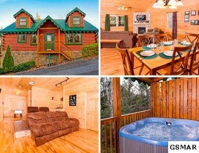 Gatlinburg Single Family Home For Sale: 1755 Mountain Shadows Way