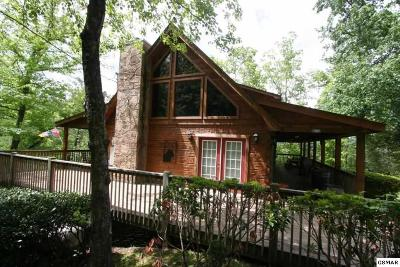Pigeon Forge Single Family Home For Sale: 1215 Mill Creek Road