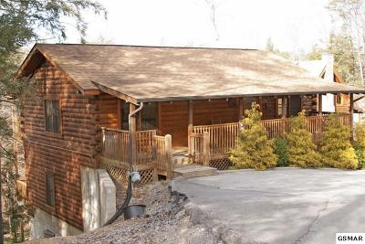 Pigeon Forge Single Family Home For Sale: 727 Black Hawk