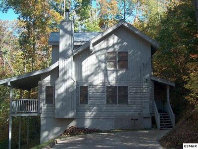 Galtinburg, Gatlinburg, Gattlinburg Single Family Home For Sale: 1915 St Moritz Dr