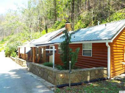 Galtinburg, Gatlinburg, Gattlinburg Single Family Home For Sale: 611 Baskins Creek Road