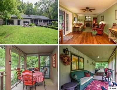 Sevierville Multi Family Home For Sale: 3109 & 3113 N Clear Fork Road