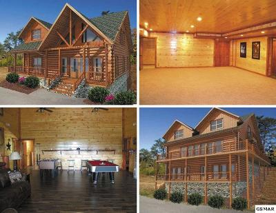 Sevierville Single Family Home For Sale: Lot 128 Bear Haven Way