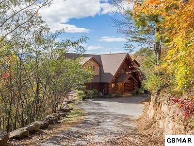 Gatlinburg Single Family Home For Sale: 419 Pinnacle Vista Rd