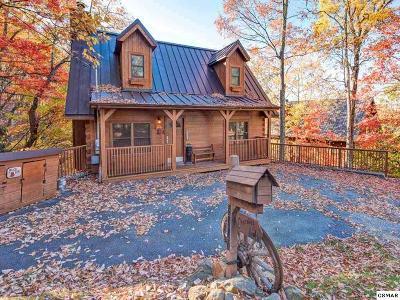 Gatlinburg Single Family Home For Sale: 2307 Smoky Mountain Court