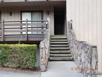 Sevierville Condo/Townhouse For Sale: 1081 Cove Rd U824