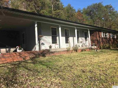 Cosby Single Family Home For Sale: 480 Middle Creek Rd