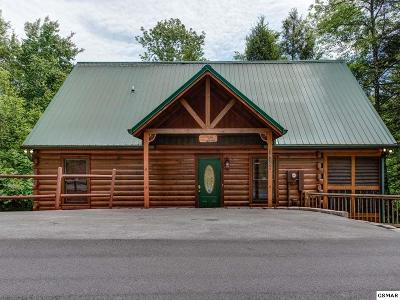 Gatlinburg Single Family Home For Sale: 1610 Burning Log Way