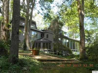 Gatlinburg Single Family Home For Sale: 673 Buckhorn Rd /