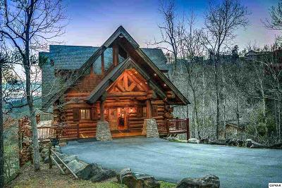 Gatlinburg TN Single Family Home For Sale: $1,350,000