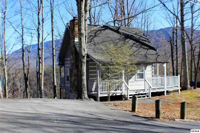 Gatlinburg Single Family Home For Sale: 536 Deer Path Ln