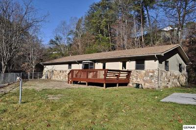 Pigeon Forge Single Family Home For Sale: 2509 Ridge Road