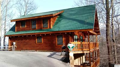 Gatlinburg Single Family Home For Sale: 2116 Tamins Ct N