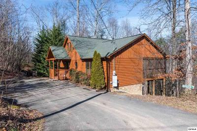 Gatlinburg Single Family Home For Sale: 1105 Oak Ct