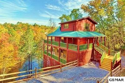 Gatlinburg Single Family Home For Sale: 956 N Highland Dr