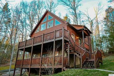 Gatlinburg Single Family Home For Sale: 645 Crescent Dr