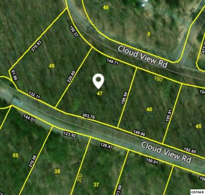Sevier County Residential Lots & Land For Sale: Lot 47 Cloud View Dr