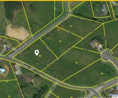 Sevier County Residential Lots & Land For Sale: Lot 62 Sunrise Dr
