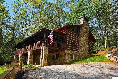 Gatlinburg Single Family Home For Sale: 1860 Hidden Hills Road