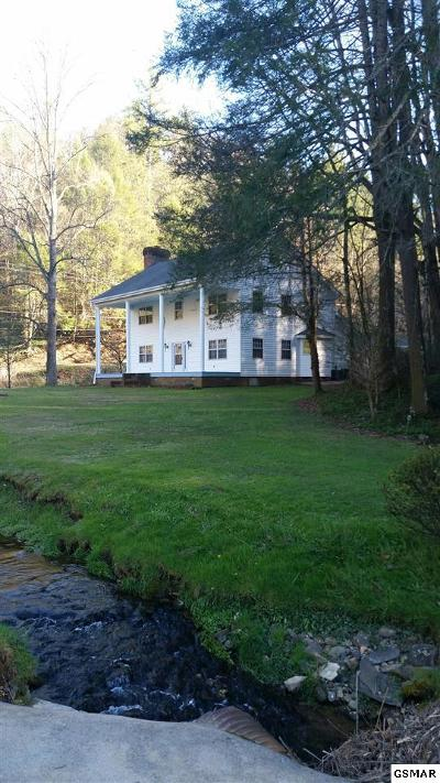 Gatlinburg Single Family Home For Sale: 1139 Glades Road
