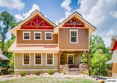 Gatlinburg Single Family Home For Sale: Lot 14 Anastasia Way