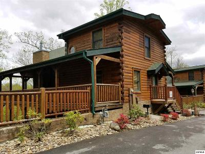 Gatlinburg Single Family Home For Sale: 748 Glory Ridge Way