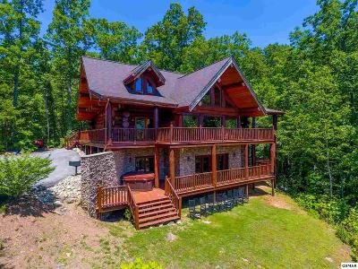 Gatlinburg TN Single Family Home For Sale: $1,100,000