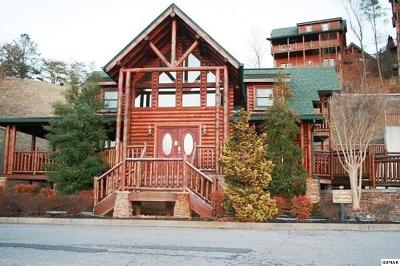 Pigeon Forge Single Family Home For Sale: 1616 Mountain Lodge Way