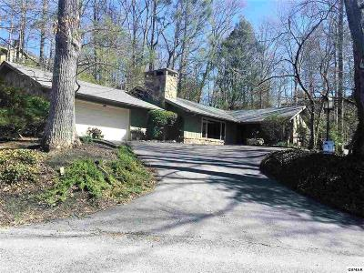 Gatlinburg Single Family Home For Sale: 204 Mockingbird Dr