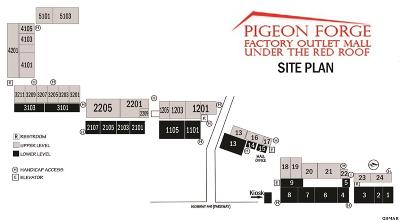 Pigeon Forge Commercial For Sale: 2850 Parkway