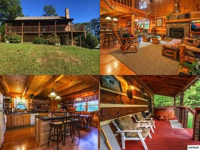 Sevier County Single Family Home For Sale: 1681 Scenic Woods Way