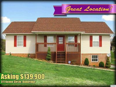 Dandridge Single Family Home For Sale: 511 Keene Circle