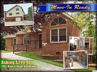 Dandridge TN Single Family Home For Sale: $219,900