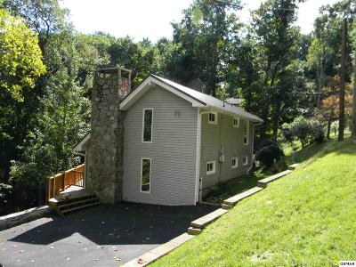 Gatlinburg Single Family Home For Sale: 1454 S Baden Dr