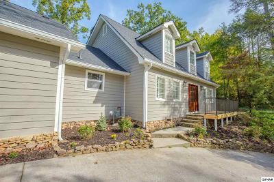 Gatlinburg TN Single Family Home Pending-Cont. To Show: $489,900