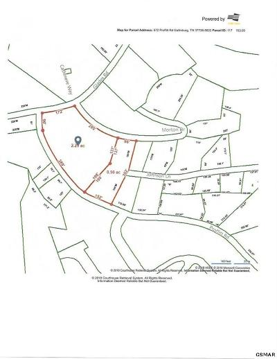 Sevier County Residential Lots & Land For Sale: Glades Rd & Proffitt Rd