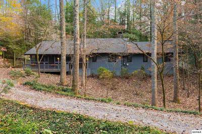 Gatlinburg Single Family Home For Sale: 1638 Cardinal Dr