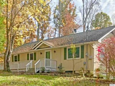 Gatlinburg Single Family Home For Sale: 1656 Cardinal Dr